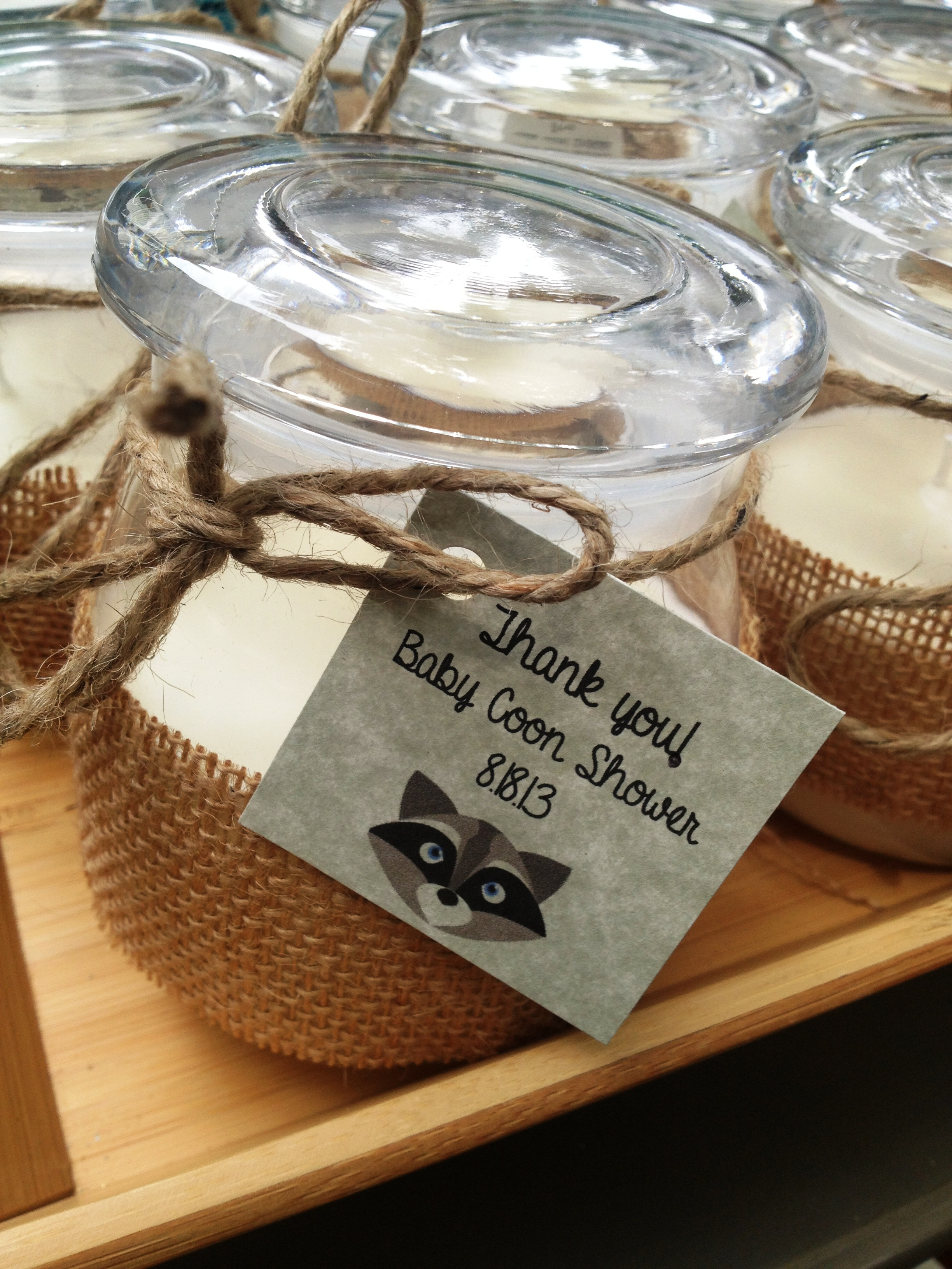 Perfect Perfect Superior Woodland Themed Baby Shower Favors Part 12: It Was So  Wonderful Putting Together